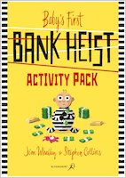 Baby's First Bank Heist - Activity pack
