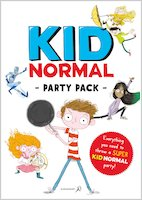 Kid Normal and the Rogue Heroes - Party pack