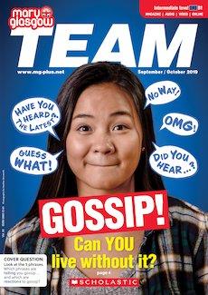 Team Magazine cover