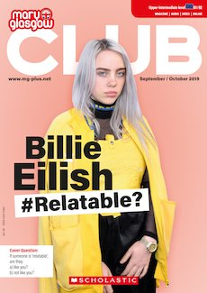 Club Magazine cover