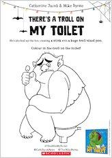 Troll on my toilet activity sheet 2 1907761