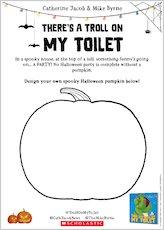 Troll on my toilet activity sheet 3 1907769