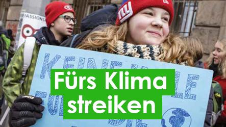 Fürs Klima streiken