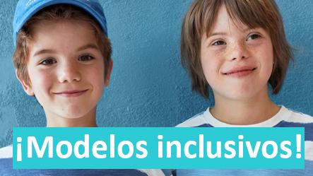 ¡Modelos inclusivos!
