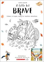 A Little Bit Brave activity sheet - colour in Logan