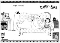 Daisy and Bear activity sheet - colour in