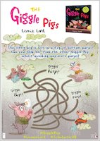 The Giggle Pigs activity sheet - puzzle