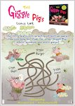 The Giggle Pigs activity sheet - puzzle (1 page)