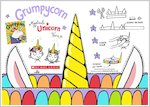 Grumpycorn activity sheet - make your own unicorn horn (1 page)