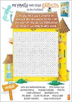 My Family and Other Ghosts activity sheet - wordsearch