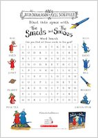 The Smeds and the Smoos activity sheet pack