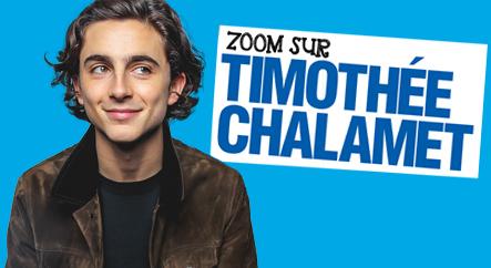 Zoom sur Timothée Chalamet