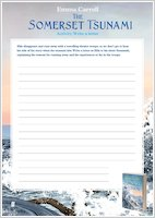The Somerset Tsunami activity sheets
