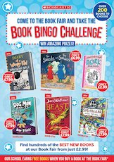 Book Fair Leaflet - Scholastic Primary First Fair Spring 2020