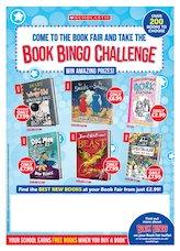 Book Fair poster - Scholastic UK Spring 2020