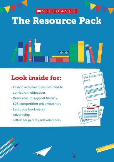 resource pack scholastic secondary book fair