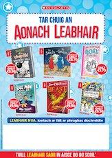 Gaelic Book Fair Poster - Scholastic Ireland - Spring 2020
