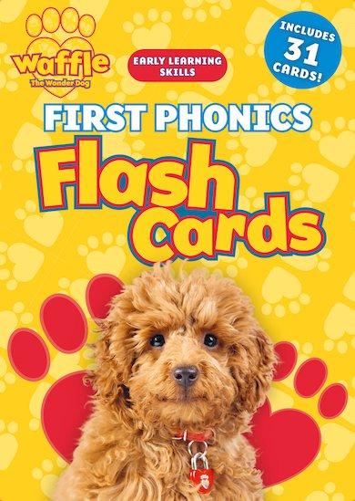 Waffle the Wonder Dog, Waffle First Phonics Flash Cards £3.99 @ Scholastic