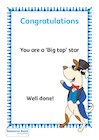 'Big top' certificates