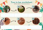Tree to bar worksheets