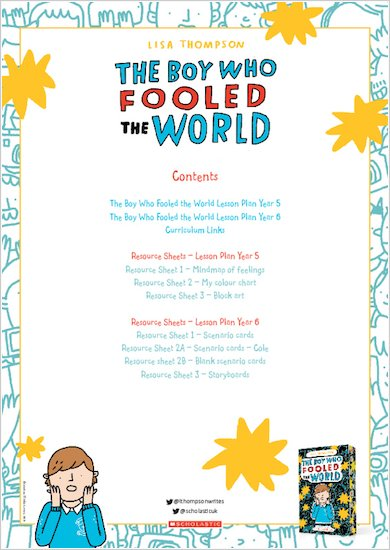The Boy Who Fooled The World Teaching Resources