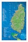 Saint Lucia map