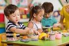 children in a nursery setting