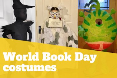 world book day costume blog