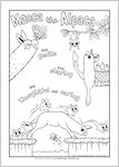 Macca the Alpaca Activity Sheet (1 page)