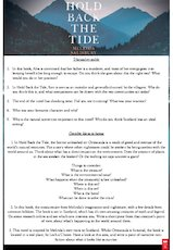 Discussion guide and activities for hold back the tide 002 1945911