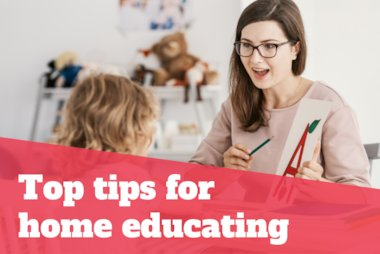 Top tips for home educating