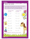 What's the sound? worksheet