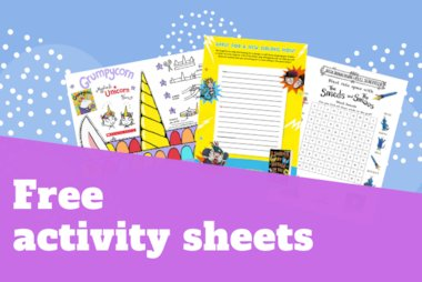 Activity Sheets Blog