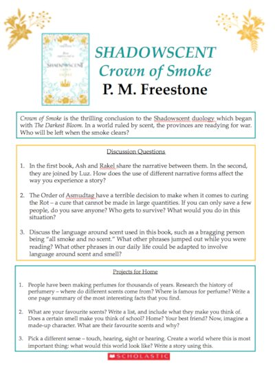 Shadowscent: Crown of Smoke Resources