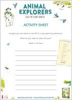Animal Explorers activity sheet