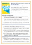 Fearless teaching resources (1 page)