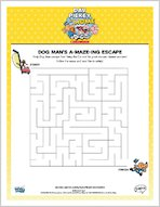 Dog Man's A-Maze-Ing Escape