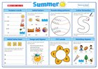 Summer Literacy Activity Mat