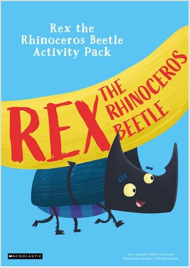 Rex the Rhinoceros Beetle Activity Pack