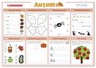 Autumn Literacy Activity Mat