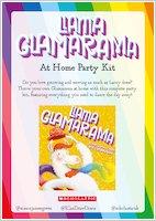 Llama Glamarama At Home Party Kit