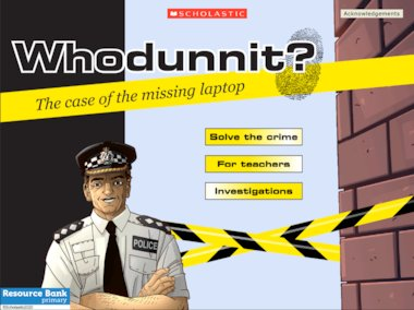 Whodunnit? The case of the stolen laptop – interactive