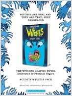 The Witches Graphic Novel activity pack