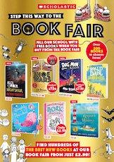 Scholastic UK Book Fair Invitation Autumn 2020