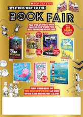 Scholastic Book Fairs A3 Poster Autumn 2020