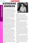 Profile on the Life and Work of Katherine Johnson (KS2)