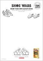 Shoe Wars Activity Pack