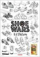 Shoe Wars A3 Downloadable Colouring In Poster