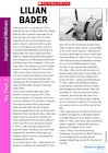 Profile on the Life and Work of Lilian Bader (KS2)