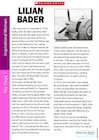 Profile on the Life and Work of Lilian Bader (KS1)